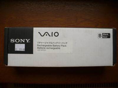 BATERIE NOTEBOOK SONY VAIO Made in  Japan VGPBPS20/B.CE7 sigilata foto