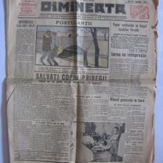 ZIARUL DIMINEATA DIN 14 IANUARIE 1937