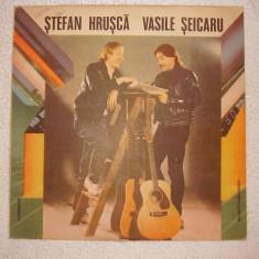 Disc vinil ~Ştefan Hruşcă - Vasile Şeicaru Călători, Visători - Muzica Folk electrecord, Alte tipuri suport muzica