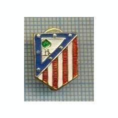 56 INSIGNA -ATLETICO MADRID- veche cu talpa -fotbal  -starea care se vede