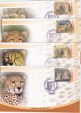 Fauna FDC WWF leoparzi ,Iran.
