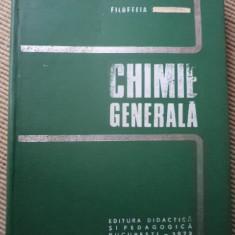 CHIMIE GENERALA FILOFTEIA DOBRESCU carte stiinta chimie - Carte Chimie