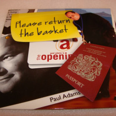 Please return the basket / stand up comedy U.K. - Paul Adams - Audiobook
