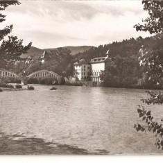 CPI (B1224) CALIMANESTI, POD PESTE OLT, EDITURA MERIDIANE, NECIRCULATA, RPR, 446 - Carte Postala Oltenia dupa 1918, Fotografie