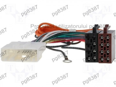 Cablu ISO Nissan, adaptor ISO Nissan, 4Car Media-000126 foto