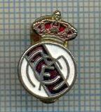 47 INSIGNA veche cu talpa -MCF -REAL MADRID -SPANIA -fotbal -starea care se vede