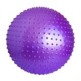 Minge mov pentru fitness si masaj - 85 cm diametru - cu pompa -