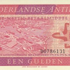 Bancnota Antilele Olandeze 1 Gulden 1970 - P20 UNC