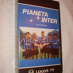 CASETA VIDEO DOCUMENTAR/ LIMBA ITALIANA ~ PIANETA INTER ~ 1988 - DVD fotbal