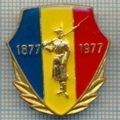 168 INSIGNA -CENTENARUL INDEPENDENTEI 1877-1977 -starea care se vede