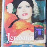 CASETA AUDIO LOREDANA MADE IN ROMANIA