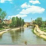 CPI (B1302) TIMISOARA, VEDERE DE PE BEGA, EDITURA OSEDT, CIRCULATA 03.3.72, STAMPILE, TIMBRU IMPRIMAT - Carte Postala Banat dupa 1918, Fotografie
