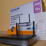 Wireless router Netgear N300 - Router wireless Netgear, Porturi LAN: 4