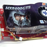 Placa video nVidia NX8600 Series - Placa video PC Msi, PCI, 256 MB