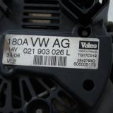 ALTERNATOR (***CU CABLU) VW PASSAT 3C B6, 021 903 026 L, 180A, VALEO, AN 2007, Volkswagen, PASSAT (3C2) - [2005 - 2010], Bosch
