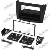 Rama adaptoare Mazda 3, neagra, rama radio 2 DIN, Mazda 3-000163