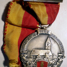 5.290 MEDALIE SPORT TIR 1949 HUGUENIN LE LOCLE 43/40mm, Europa