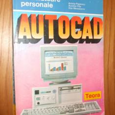 AUTOCAD 11 -- A. Popescu -- [ 1994, 234p. ] - Carte Limbaje de programare
