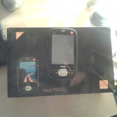 Vând PDA ASUS P552, Touchscreen, Culori display: 64000, 240 x 320 pixeli (QVGA), Negru, 1-2 megapixeli