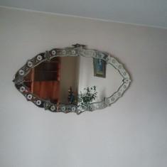 Oglinda cristal veche