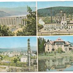 Carte postala(marca fixa)-BACAU-colaj - Carte Postala Moldova dupa 1918, Circulata, Printata