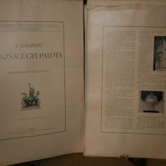 ARHITECTURA PALATULUI JUSTITIE DIN BUDAPESTA 1901( HAUSZMANN Alajos:A Budapesti