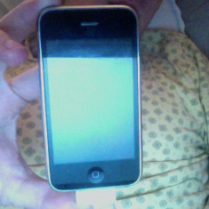 iPhone 3Gs Apple 16GB newerlocked incarcator, casti, fara cutie, Negru, Neblocat