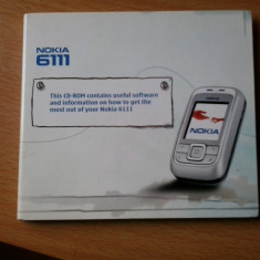 Vand CD software Nokia 6111