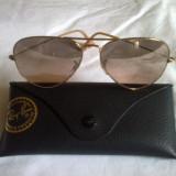 De vanzare ochelari soare ray.ban - Ochelari de soare Ray Ban, Unisex, Maro, Pilot, Metal, Protectie UV 100%