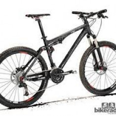 CUBE AMS 100 PRO - Mountain Bike Cube, 19 inch, 26 inch, Numar viteze: 27, Aluminiu, Negru mat