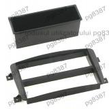 Rama adaptoare Mercedes,negru, 2 ISO-000274