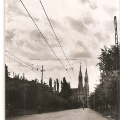 CPI (B1176) TIMISOARA, STR. MIHAI VITEAZUL, EDITURA MERIDIANE, CIRCULATA 24.7.60, STAMPILE, TIMBRE, RPR - Carte Postala Banat dupa 1918, Fotografie