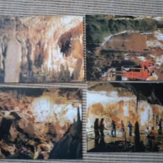 Pestera ursilor 4 carti postale necirculate - Carte postala tematica, Necirculata