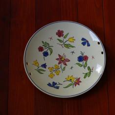 Piesa deosebita pictata manual - farfurie - platou - Arta Ceramica