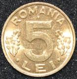ROMANIA 5 LEI  PLACATA CU AUR ANI DIFERITI