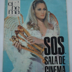 Revista CINEMA - aprilie - 1968 - Revista culturale