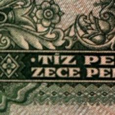 ROMANIA 10 PENGEI 1936 UNGARIA UNC - Bancnota romaneasca
