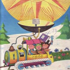 Revista LUMINITA 1980-1982 - Reviste benzi desenate Altele