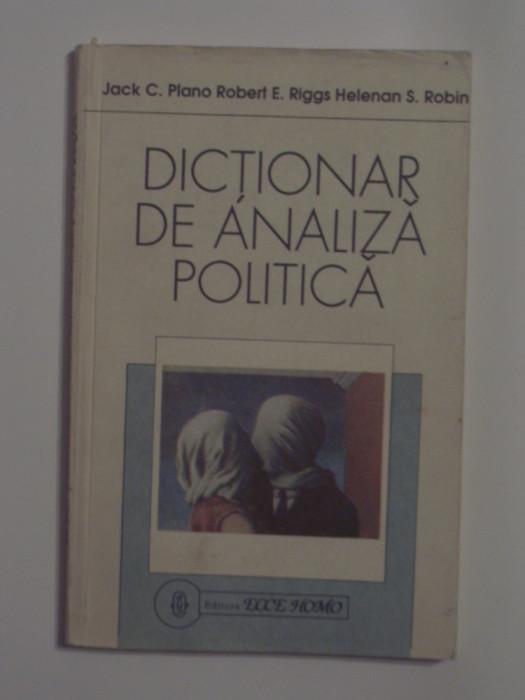 JACK C.PLANO \ ROBERT E.RIGGS - DICTIONAR DE ANALIZA POLITICA