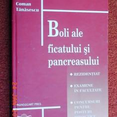 Bolile ficatului si pancreasului - Coman Tanasescu (rezidentiat)