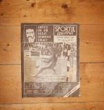 Revista SPORTUL ILUSTRAT Nr. 3 - 4 / 1990 Interviu Tiriac