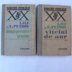 Douasprezece scaune - Vitelul de aur I - II - Roman, Anul publicarii: 1971
