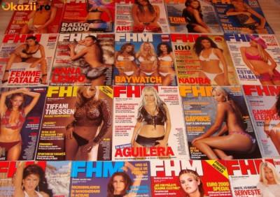 Colectie FHM Romania Numerele 1-100 foto