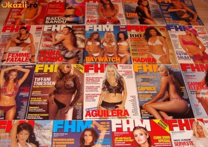 Colectie FHM Romania Numerele 1-100