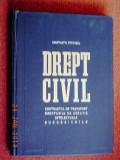 Constantin Statescu - Drept civil - Contractul de transport, Dreptul de creatie intelectuala, Succesiunile (1967)