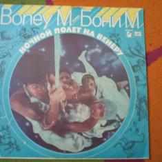 Boney M Nightflight to venus disc lp vinyl rusesc urss muzica pop dance disco, VINIL