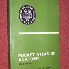 Atlas de anatomie - Pocket atlas of anatomy - Third edition - Victor Pauchet and S. Dupret