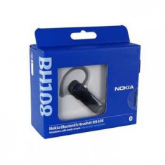 Nokia Bluetooth Headset BH-108 NOU cu garantie.Compatibil cu toate telefoanele - Handsfree GSM