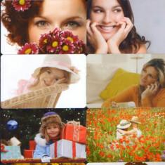 Cartele telefonice romanesti uzate lot de 10 bucati(II) - Cartela telefonica romaneasca