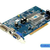 Placa video Ati Radeon 128mb AGP DDR1 - defecta - 20 lei